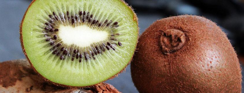 Kiwi met schil