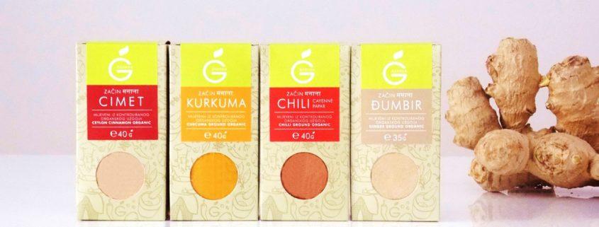 Gember en Kurkuma thee