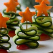 Gezonde kerstboompjes